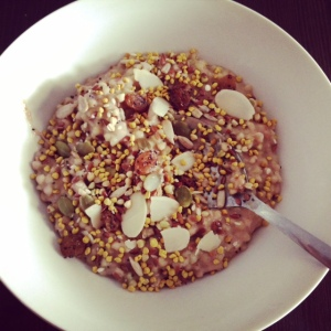 Seedy nutty quinoa